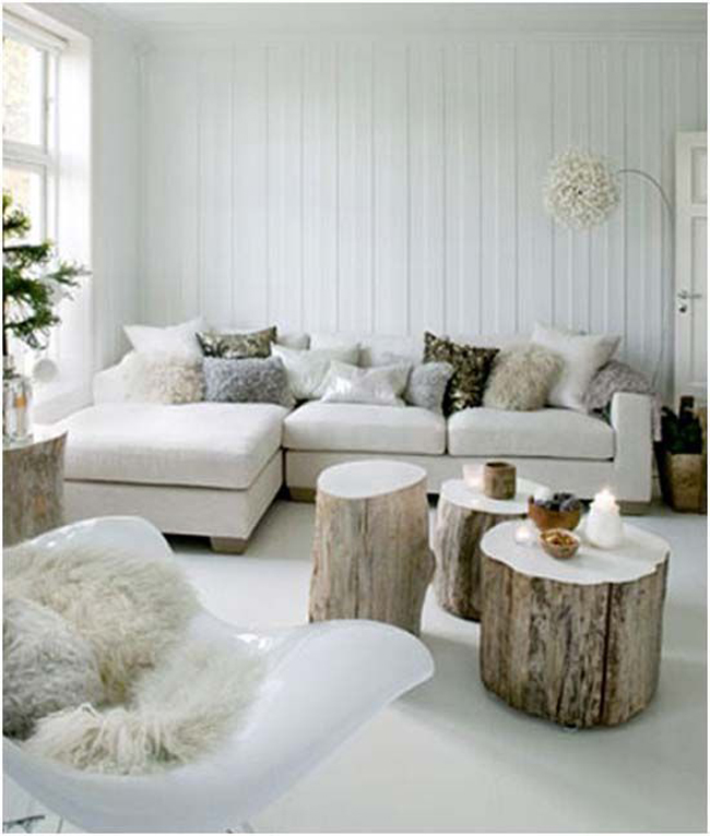 decorar con madera natural II
