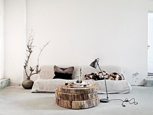 decorar con madera natural III