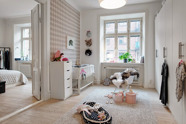 decorar paredes de estilo nordico beige