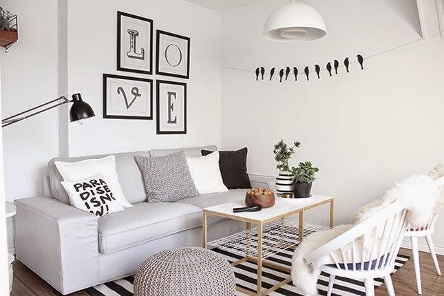 decorar paredes de estilo nordico vinilos