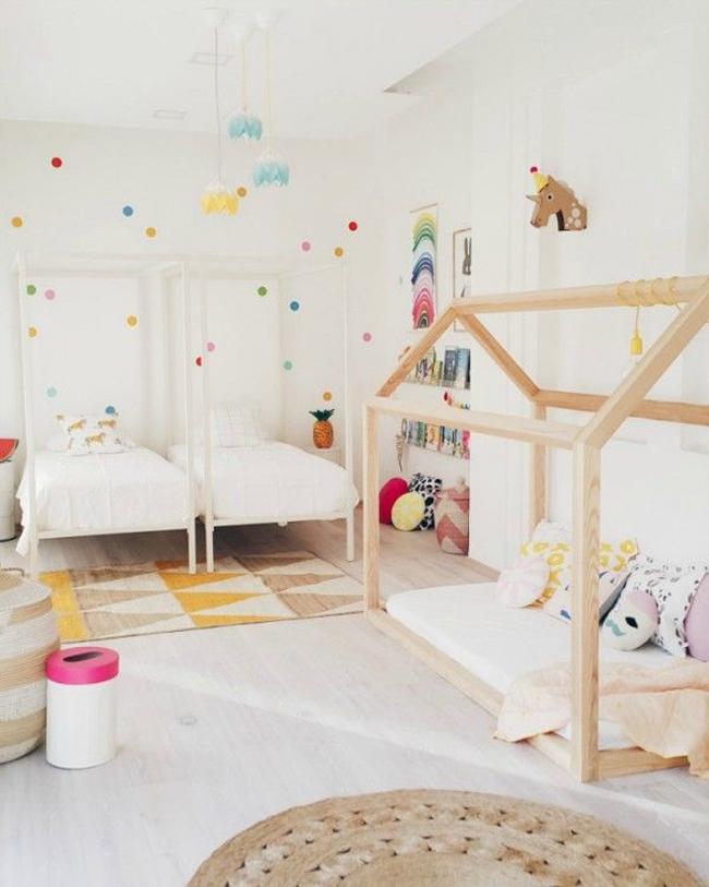 estilo nordico dormitorios infantiles compartidos II