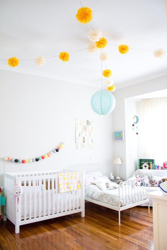 estilo nordico dormitorios infantiles compartidos distintas edades III