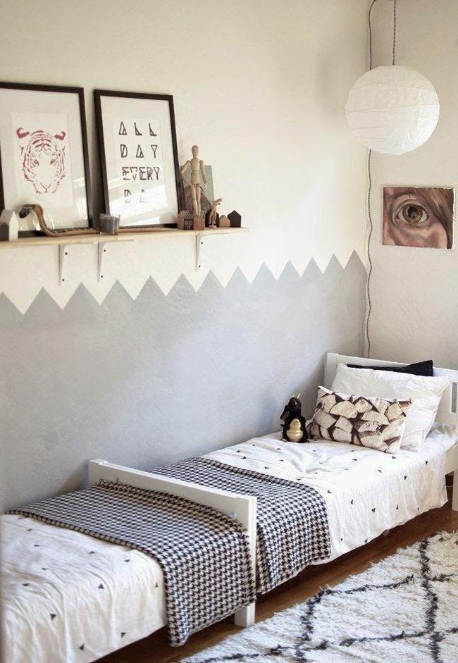 estilo nordico en dormitorios infantiles compartidos III