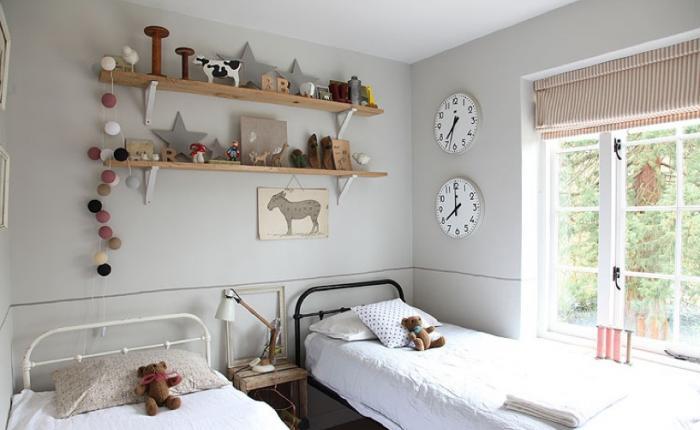 estilo nordico en dormitorios infantiles compartidos iV