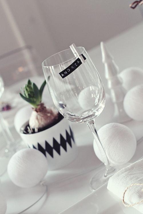 fiestas de estilo nordico copas