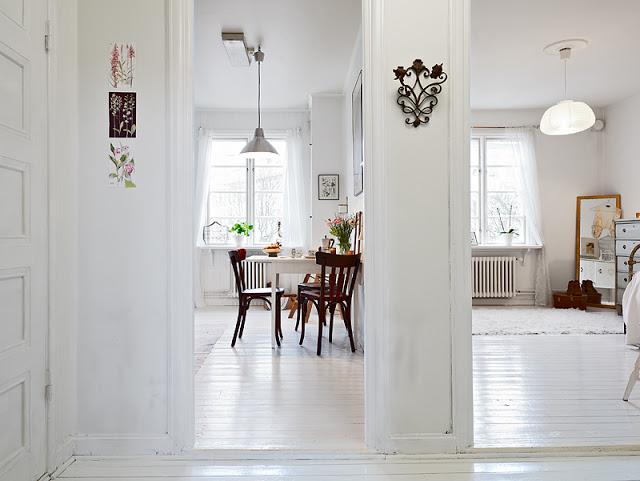 iluminación nórdica - lamparas de diseño escandinavo 2 estancias