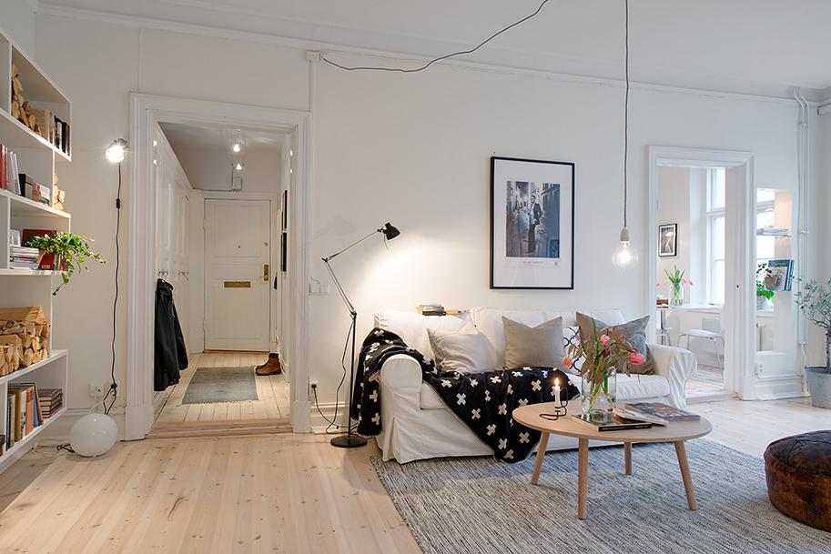 iluminación nórdica lamparas de diseño escandinavo salón