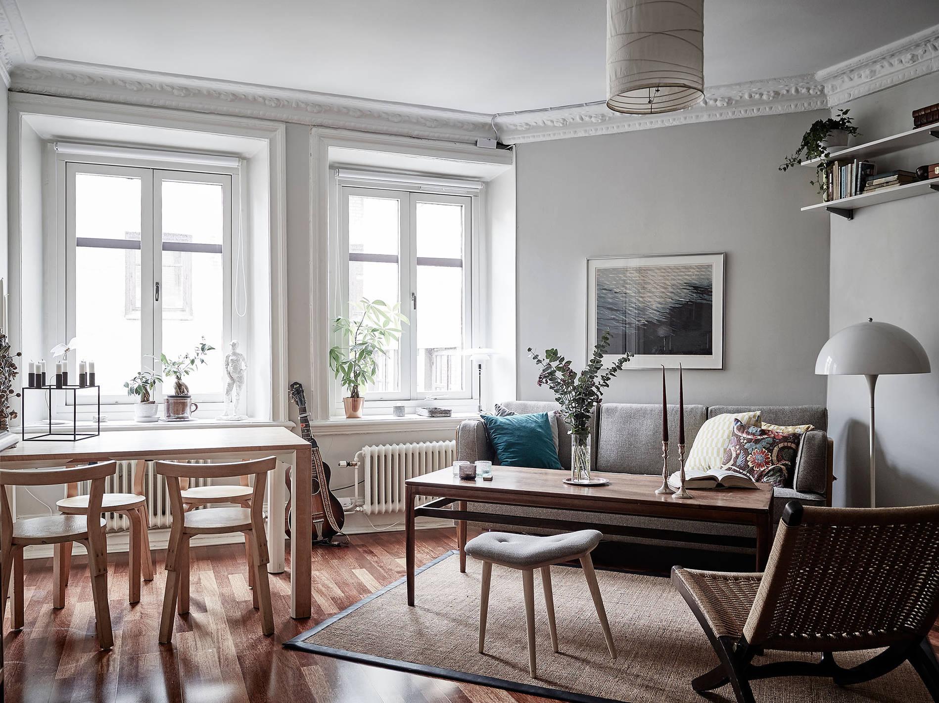 mini apartamento de estilo nordico I