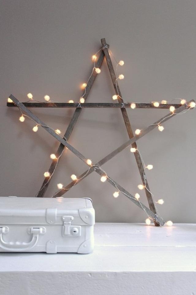 decorar con estrellas V
