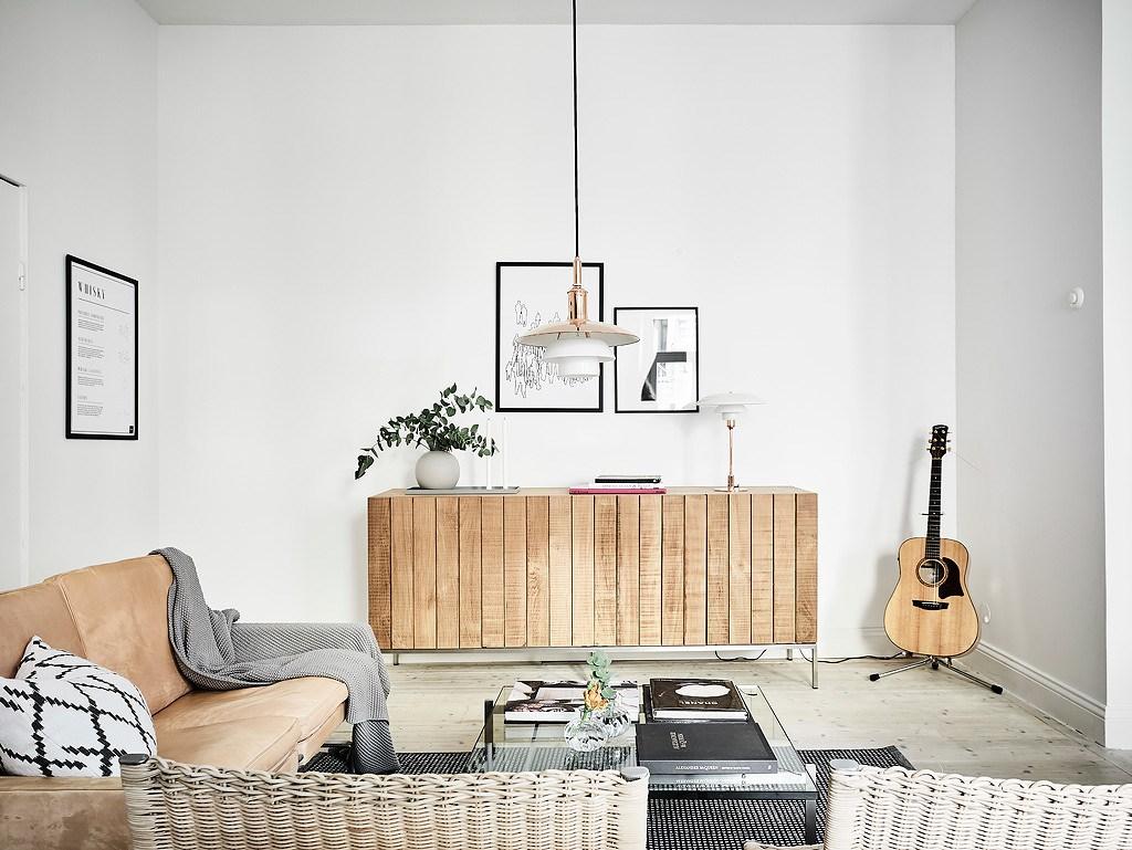 espacios más grandes combinando blancos
