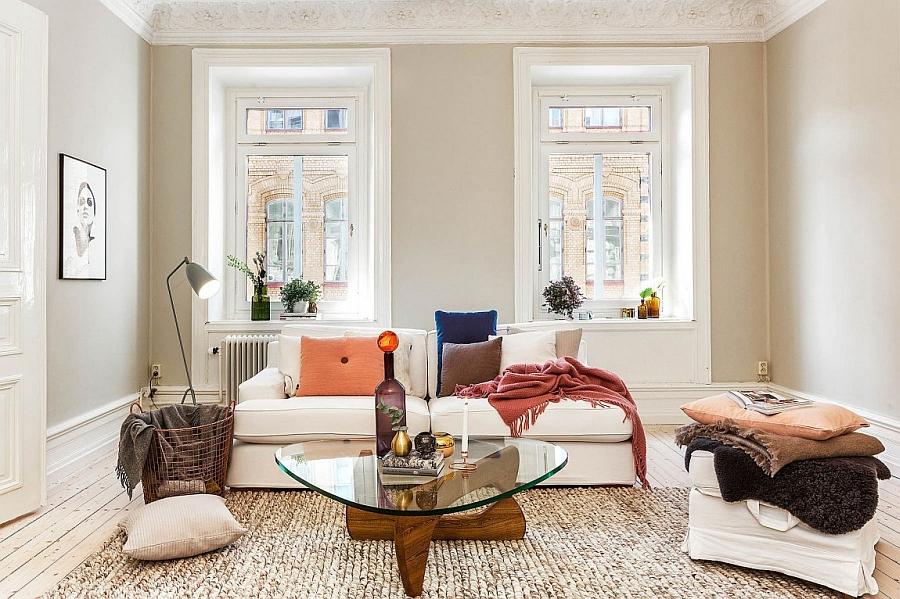 Decoración de un apartamento contemporáneo