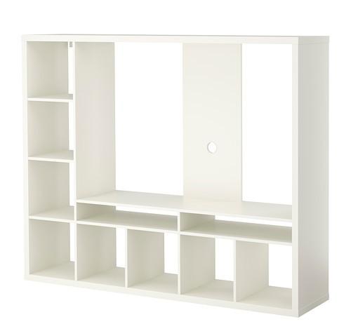 Diferentes muebles de Ikea para el salón