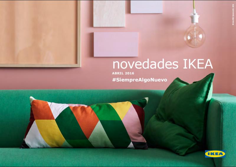 Nuevos muebles IKEA abril 2016