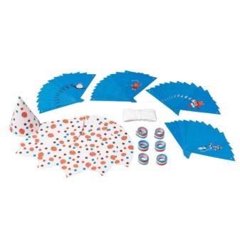 ikea abril 2016 PE558609 accesorios para fiesta 13 piezas azul