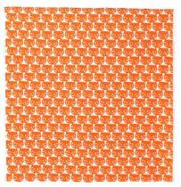 ikea abril 2016 PE576251 mattram tela metro ancho 150 cm algodon naranja.