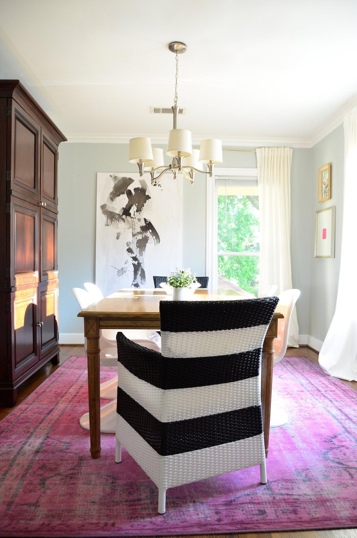 alfombra para el comedor por estilos