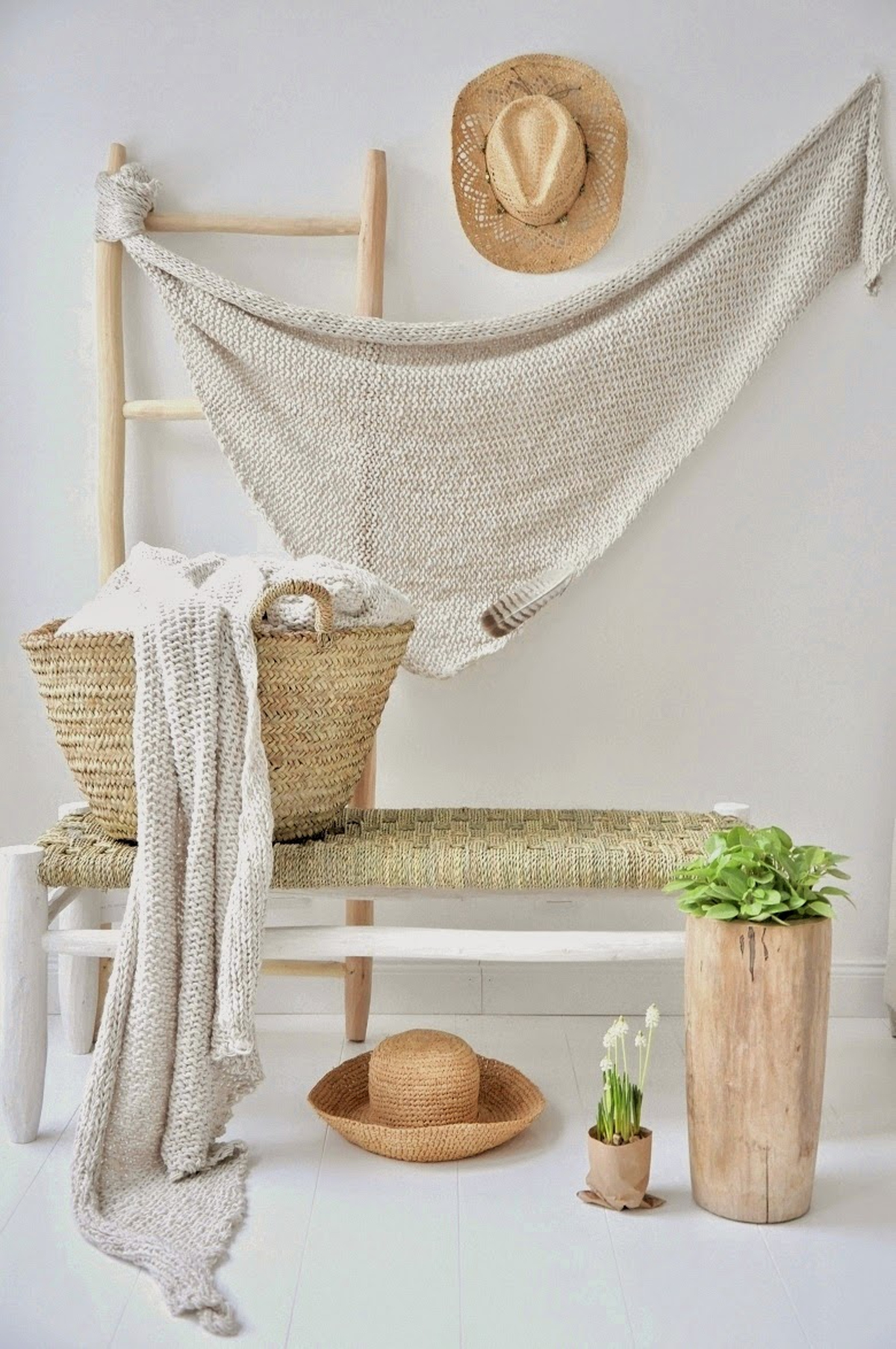 decoración para este verano 2016 - Decoración con fibras naturales