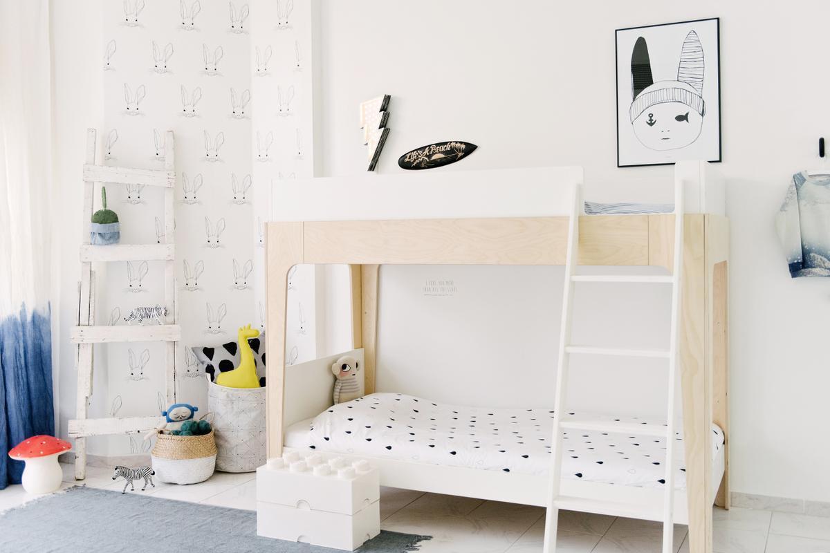 Habitación para niños con literas