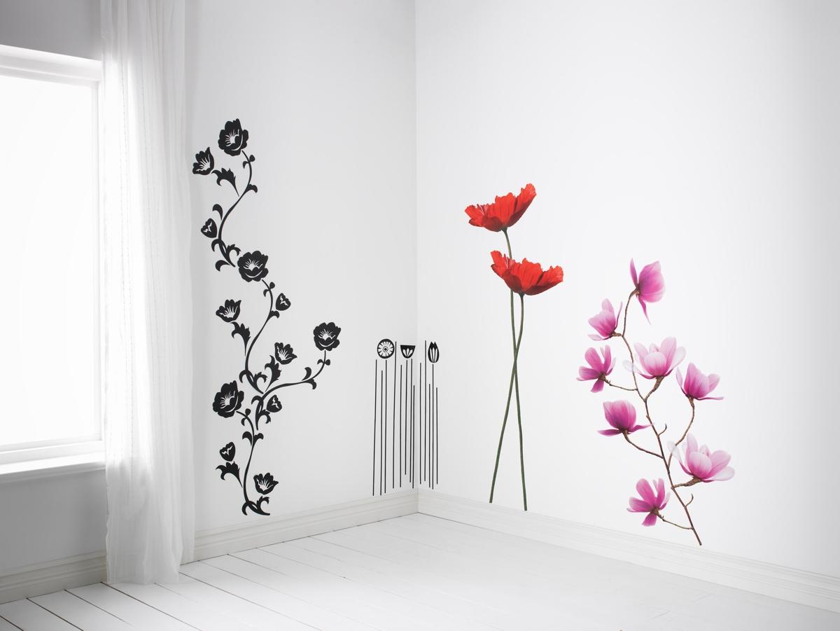 10 vinilos decorativos de ikea para decorar tus paredes - Vinilos decorativos baratos ...