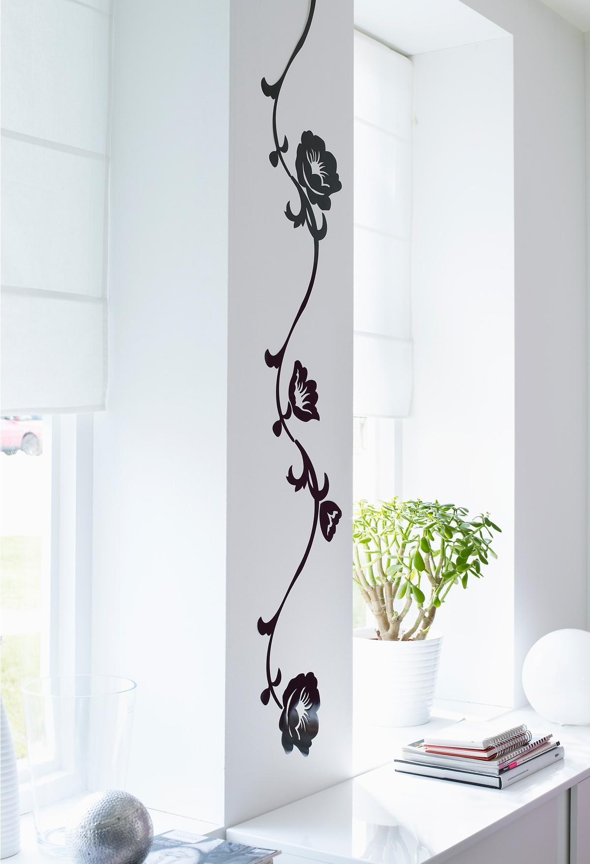 vinilos decorativos de Ikea - mod. Slätthult guirnalda negro