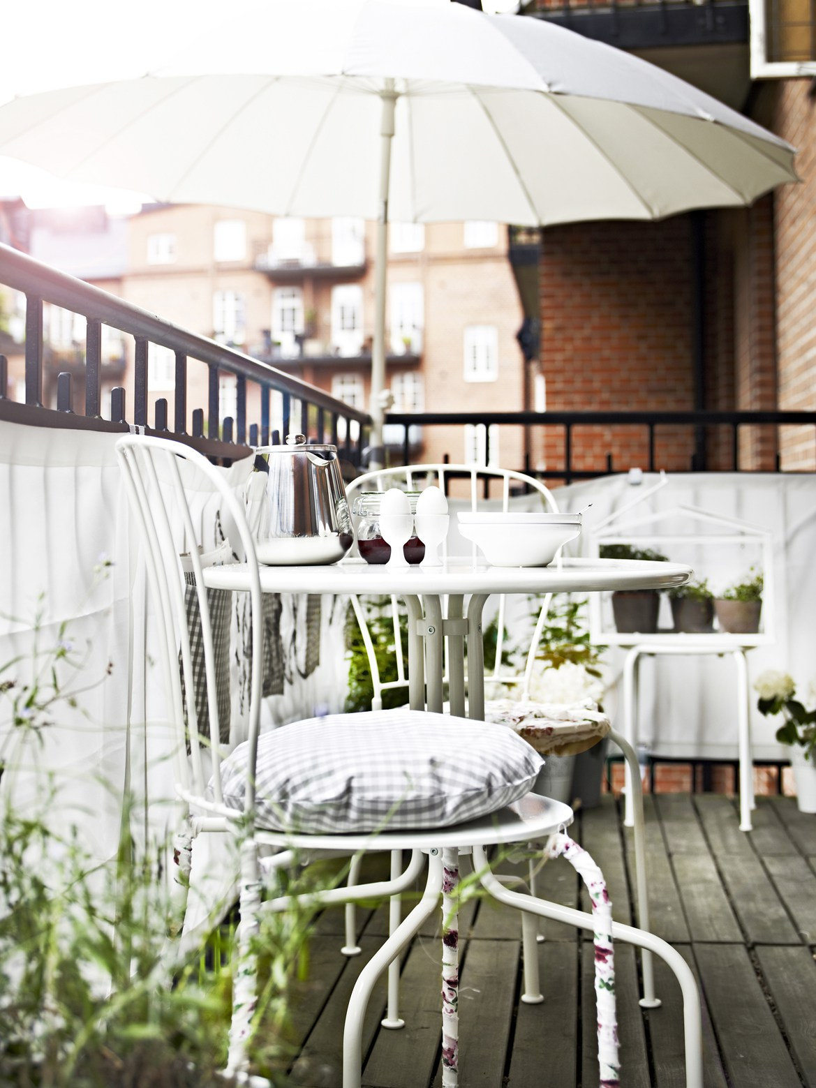 muebles de Ikea de segunda mano de terraza