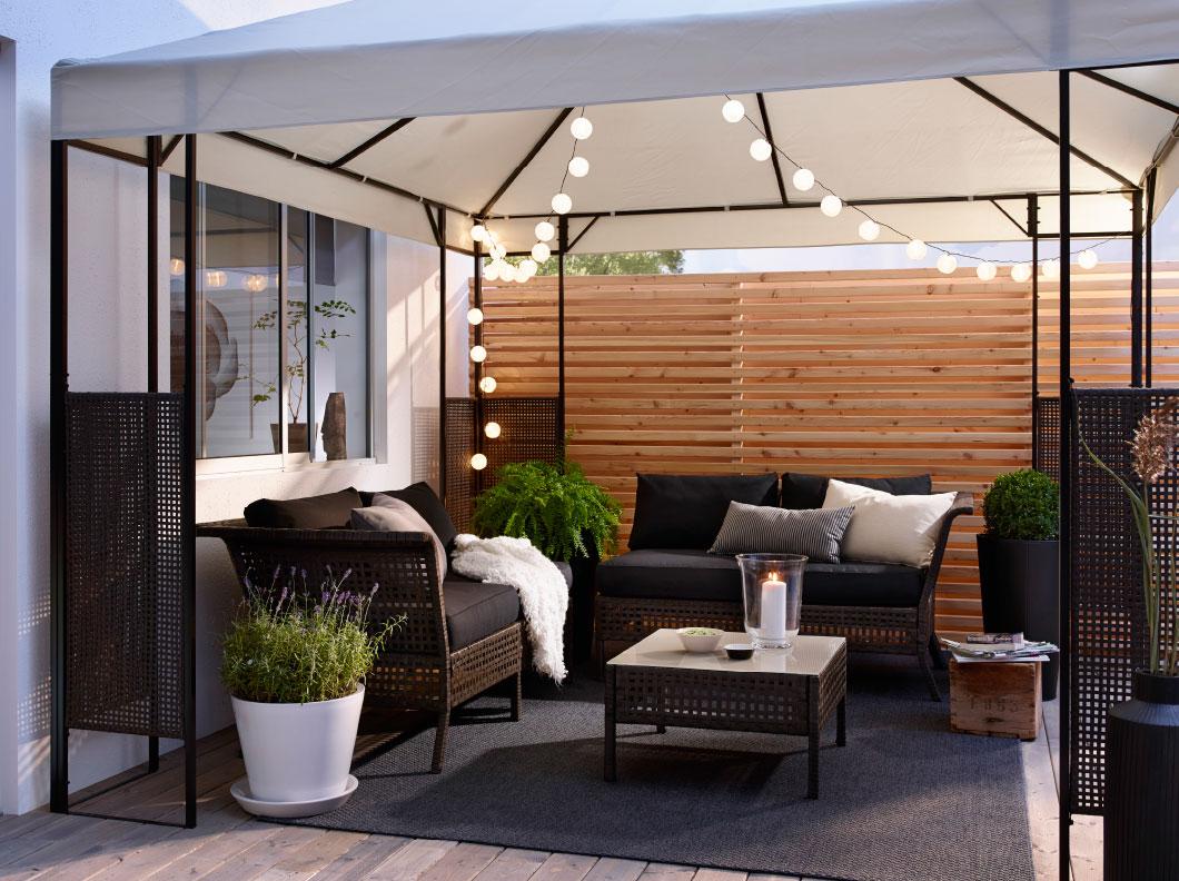 muebles de Ikea de segunda mano de jardín