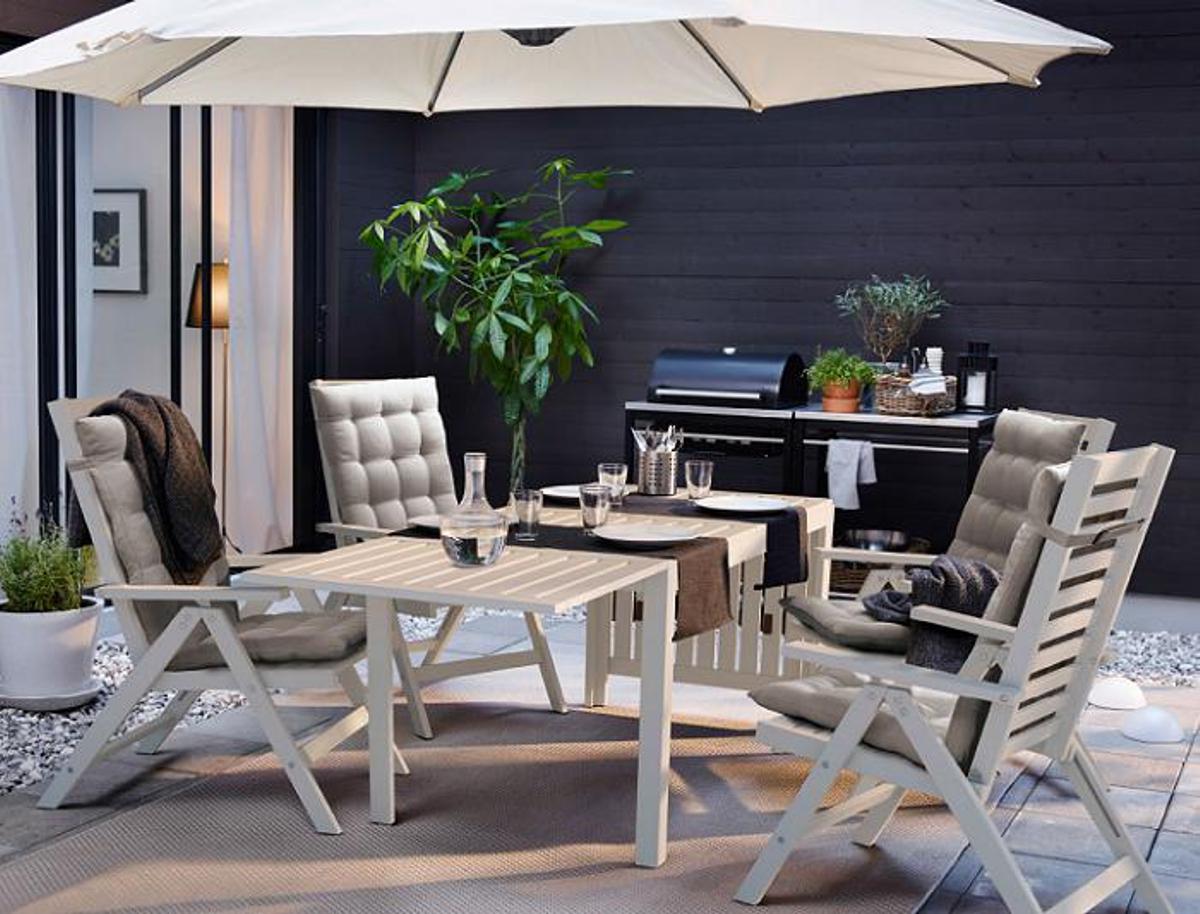 muebles para el jardín de IKEA - mesa ÄPPLARÖ