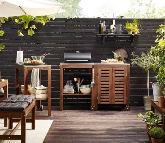 muebles para el jardín de IKEA - Barbacoas