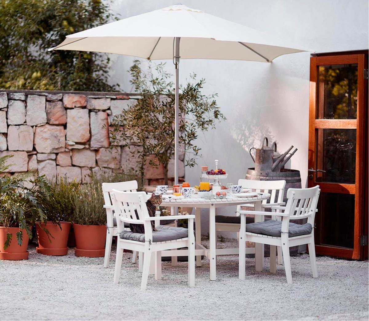 muebles para el jardín de IKEA - mesa ÄNGSÖ