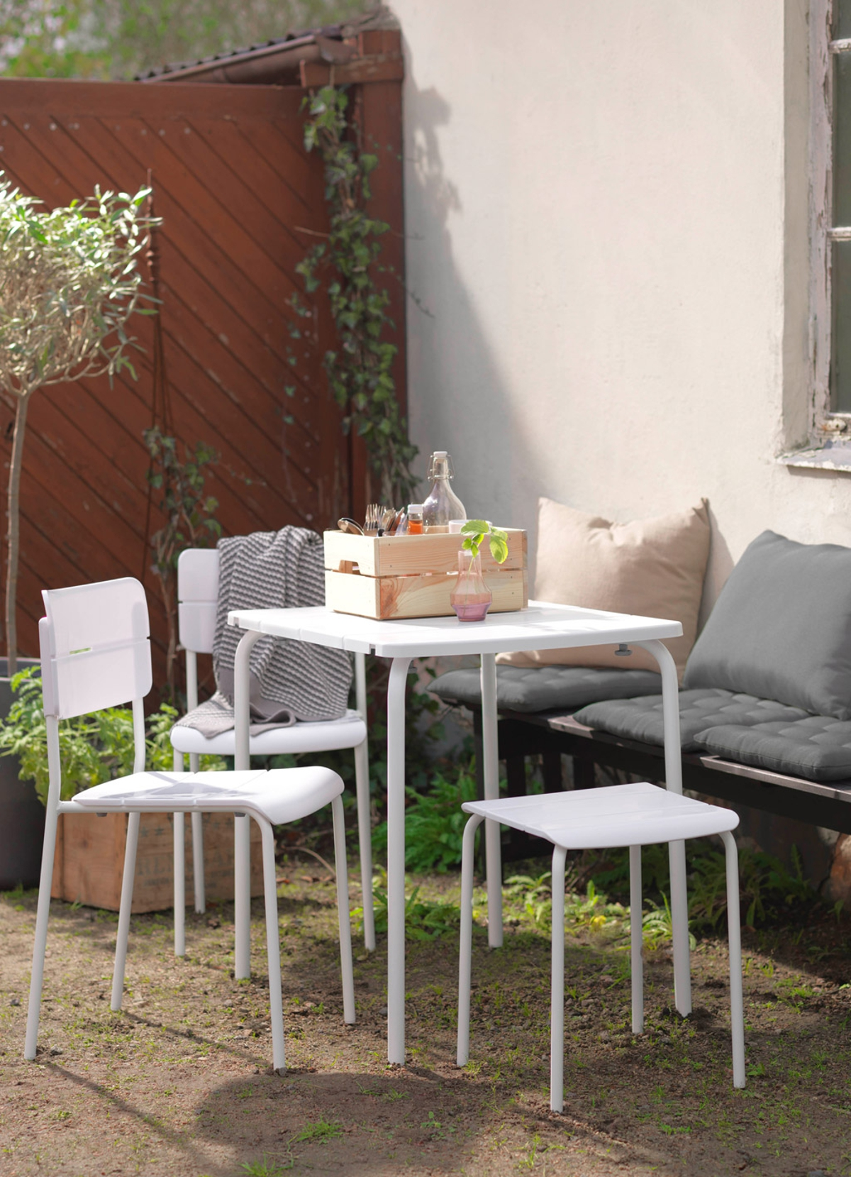 muebles para el jardín de IKEA - mesa VÄDDÖ
