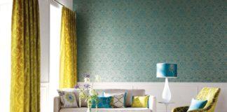 cortinas modernas - amarillas