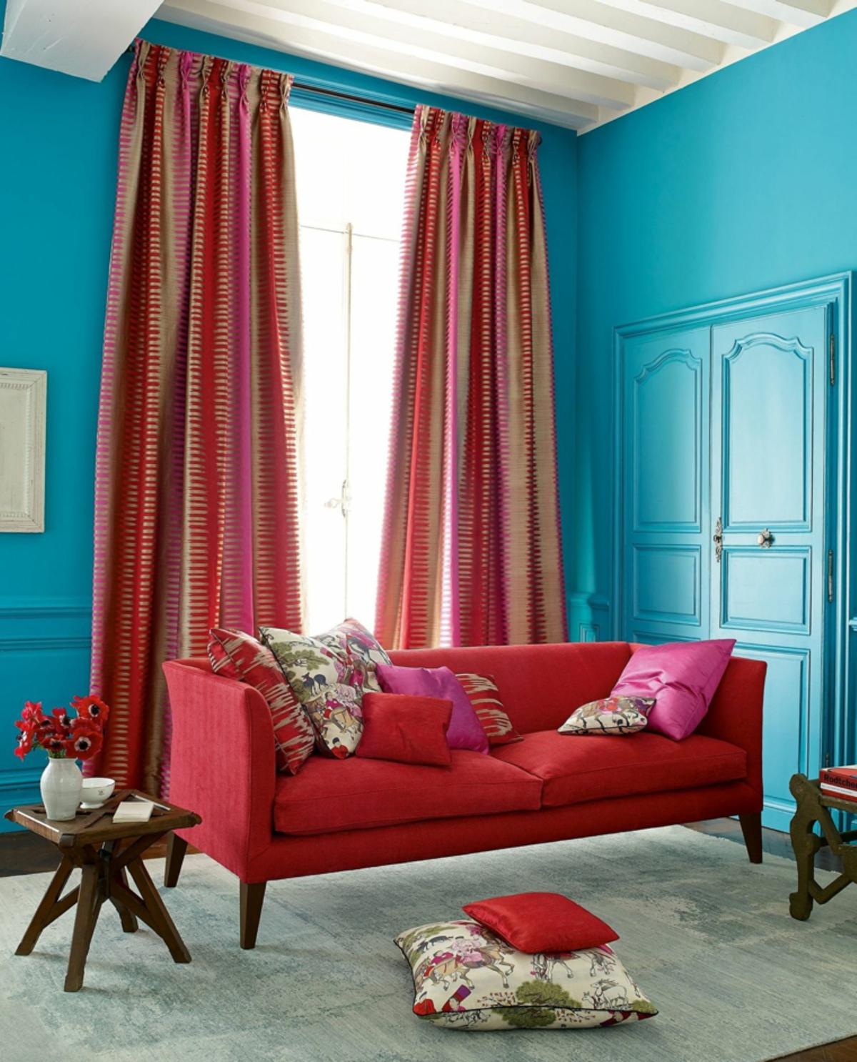 cortinas modernas- de tela