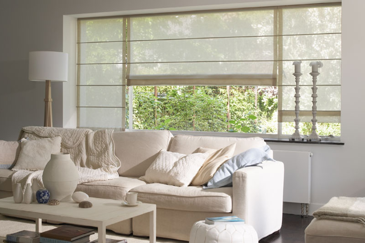 cortinas modernas - estor romano