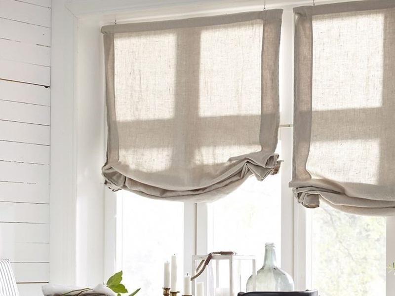 cortinas modernas - estor a paquete