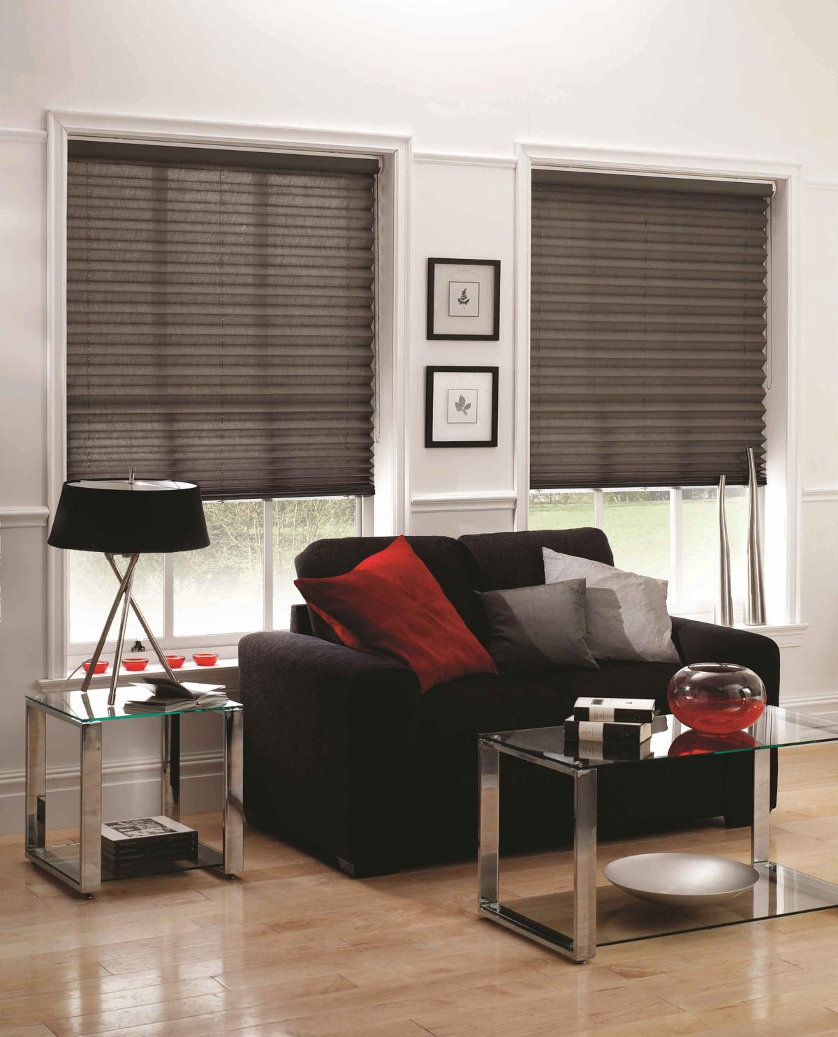 cortinas modernas- estor plisado