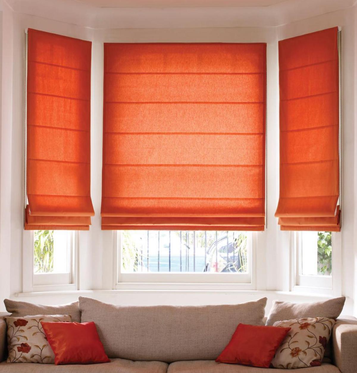 cortinas modernas- estores con varillas
