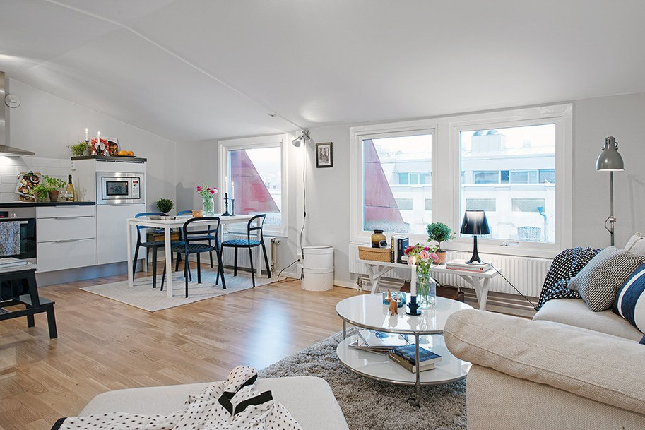 casas decoradas con Ikea - estilo escandinavo