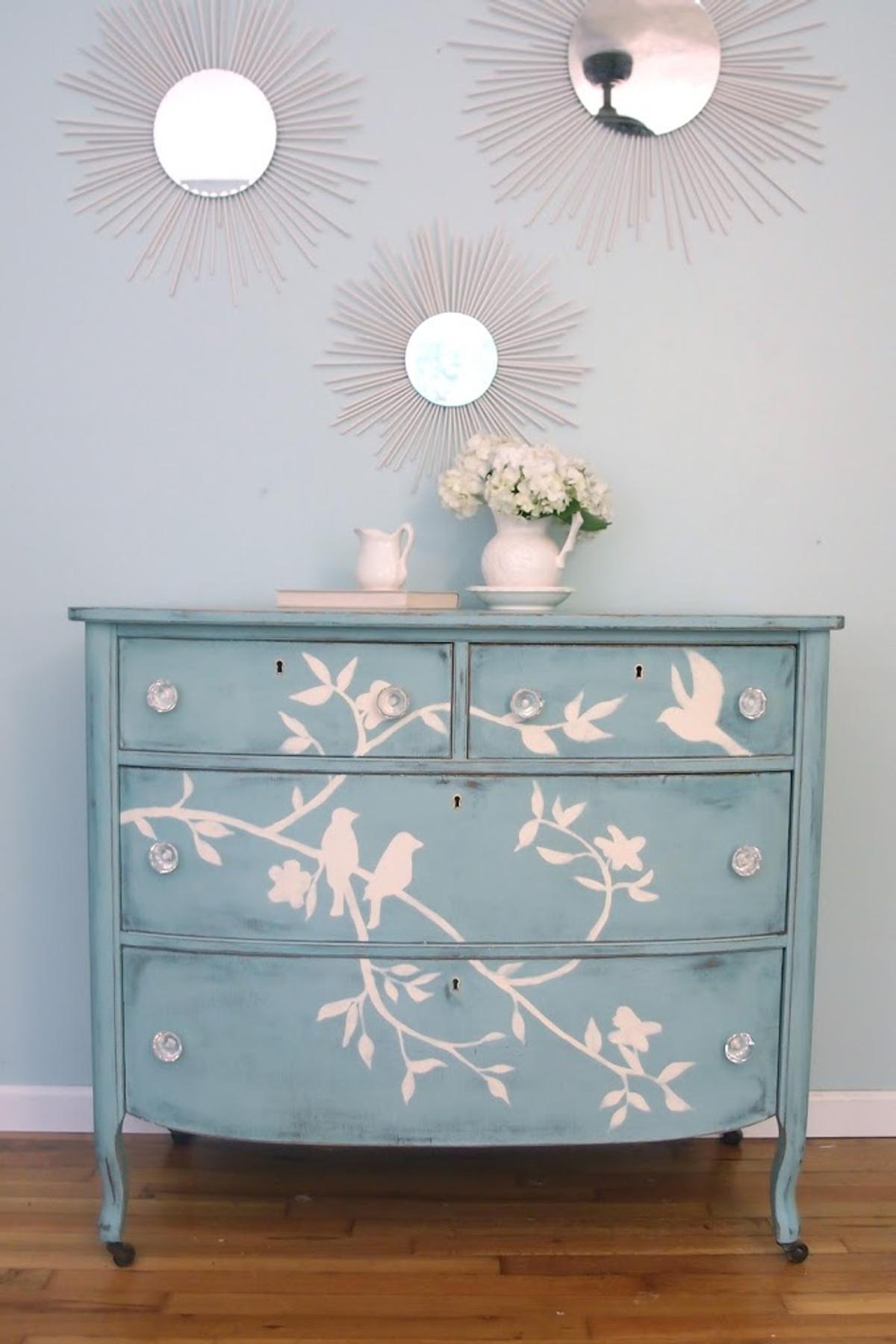 amueblar un piso completo - mueble restaurado