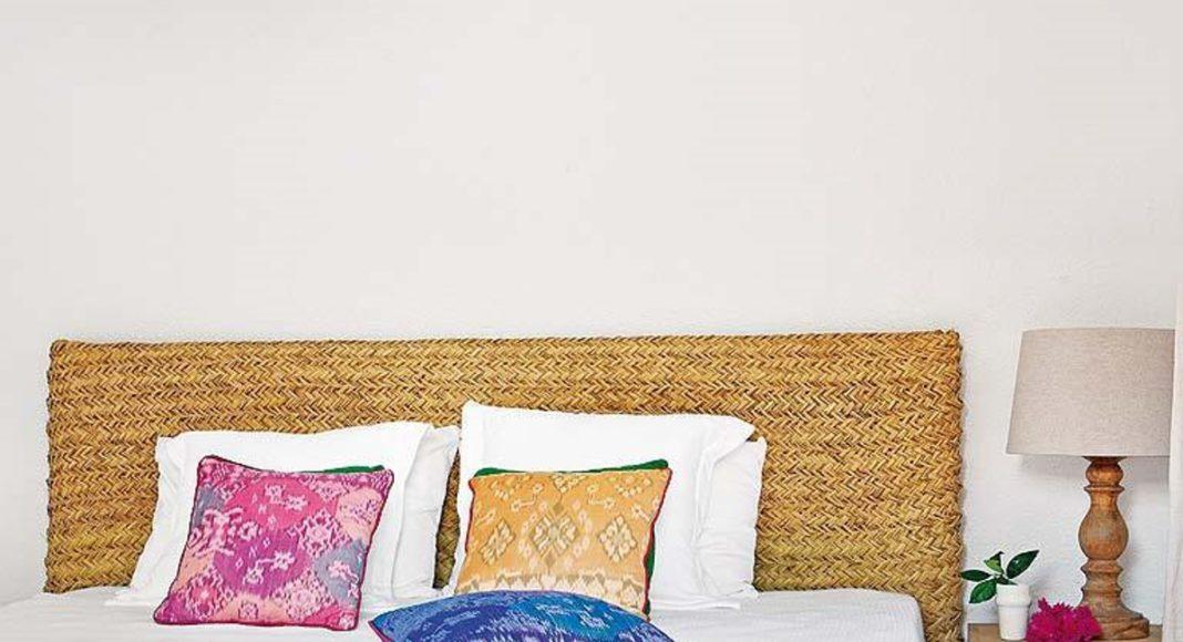 dormitorio para el verano- fibras naturales