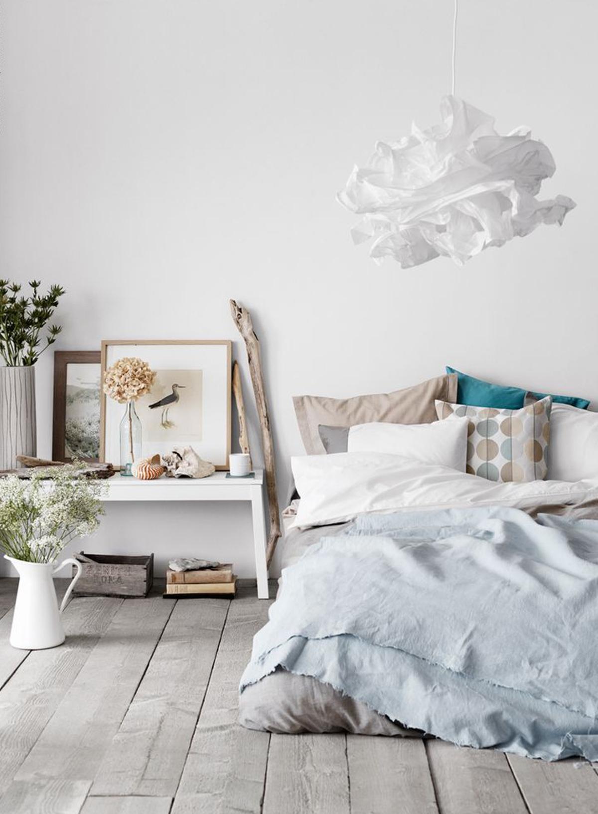 dormitorio para el verano complementos