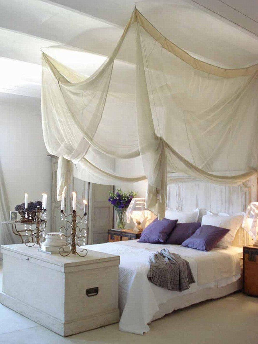 dormitorio para el verano- dormitorio shabby chics