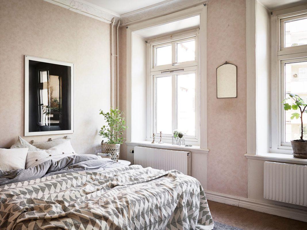 dormitorio para el verano - almohadas finas