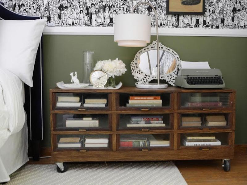 decoración de pisos antiguos - muebles reciclados