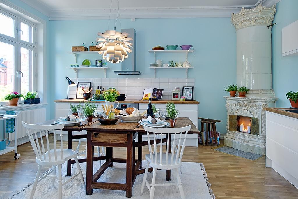 decoración de pisos antiguos - cocina