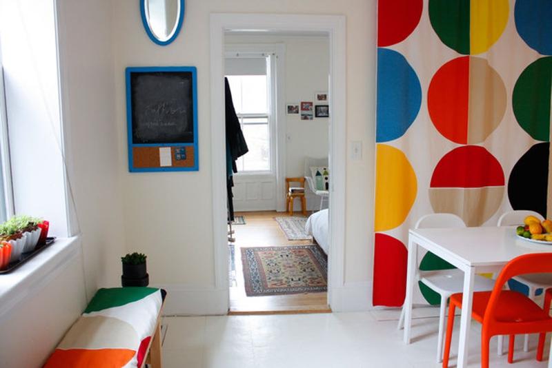 casas decoradas con Ikea - alegre comedor