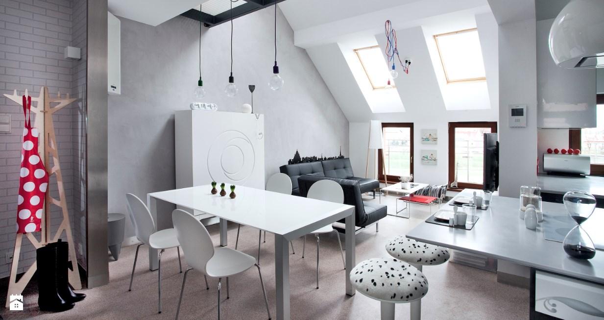 casas decoradas con Ikea - zona de estar moderna