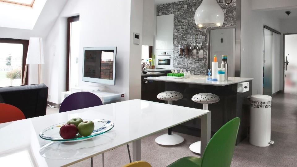 casas decoradas con Ikea - cocina moderna