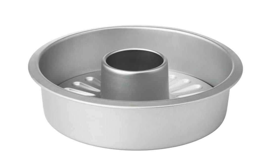 ikea coleccion vardagen pe580599 molde tarta base desmontable aluminio anodizado gris plata lowres