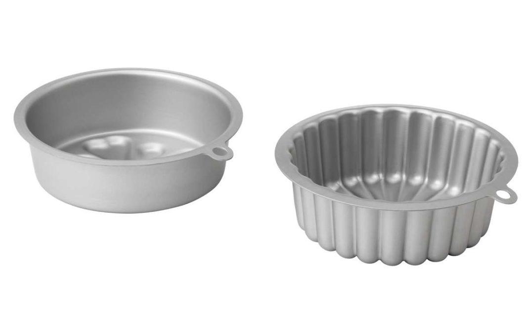ikea coleccion vardagen pe580600 molde horno aluminio anodizado gris plata lowres