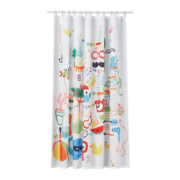 cortinas de baño ikea - modelo Badbäck